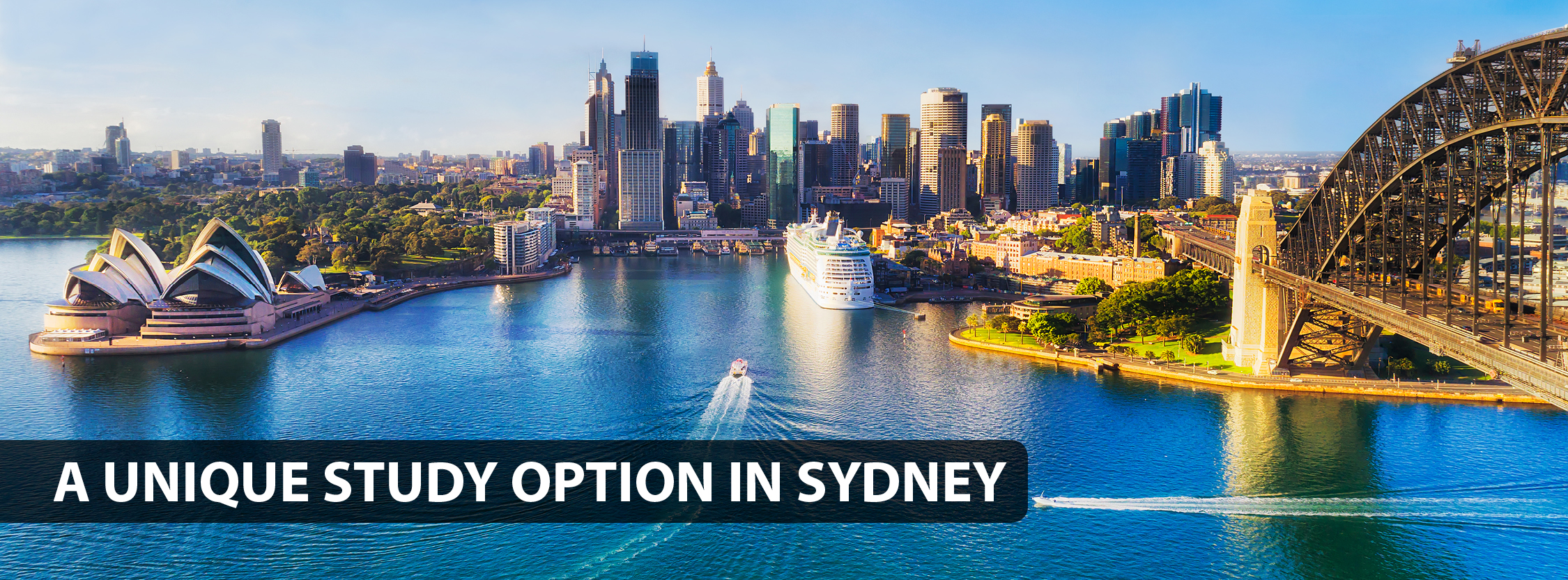A unique study option in Sydney